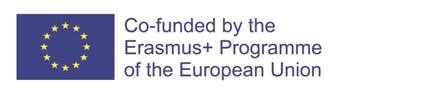 EU flag, Erasmus+ visual identity and logo
